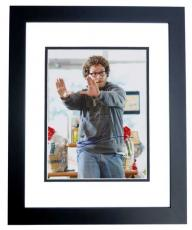 Seth Rogen Autographed Zack and Miri Make a Porno 8x10 Photo BLACK CUSTOM FRAME