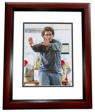 Seth Rogen Autographed Zack and Miri Make a Porno 8x10 Photo MAHOGANY CUSTOM FRAME
