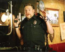 SETH ROGEN (COMEDIAN/ACTOR/PRODUCER) Signed 10x8 Color Photo