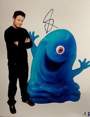 Seth Rogen Hand Signed Autographed 11x14 Photo Sexy Monsters VS Aliens GA756090