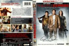 Seth Rogen James Franco Autographed Pineapple Express DVD Cover AFTAL UACC RD CO