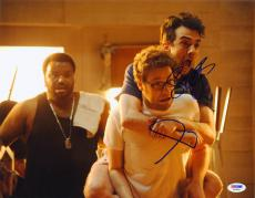 Seth Rogen Jay Baruchel SIGNED 11x14 Photo This Is The End PSA/DNA AUTOGRAPHED