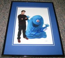 Seth Rogen Monsters & Aliens Signed Framed 8x10 Photo JSA