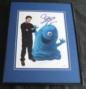 Seth Rogen Monsters vs Aliens Signed Framed 8x10 Photo JSA