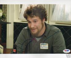 Seth Rogen Signed 40 Year Old Virgin 8x10 Photo PSA/DNA