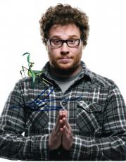 Seth Rogen Signed 8x10 Photo Authentic Autograph Superbad Comic Great Coa D