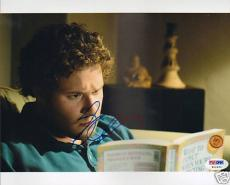 "Seth Rogen Signed Auto ""Knocked Up"" 8x10 Photo PSA/DNA"
