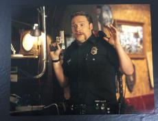 SETH ROGEN SIGNED AUTO SUPERBAD 'OFFICER MICHAELS' 11x14 PHOTO WITH PROOF COA
