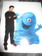SETH ROGEN SIGNED AUTOGRAPH 8x10 PHOTO MONSTERS ALIENS IN PERSON COA E