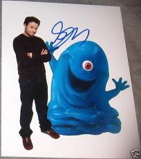 Seth Rogen Signed Autograph Monsters Aliens 8x10 Photo