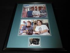 Seth Rogen Signed Framed 16x20 40 Year Old Virgin Photo Set
