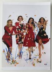 Sex and the City Cast (4) Signed 10x14 Photo Davis Parker Nixon PSA/DNA #K27358