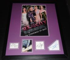 Sex & The City Cast Signed Framed 20x24 Poster Photo Display