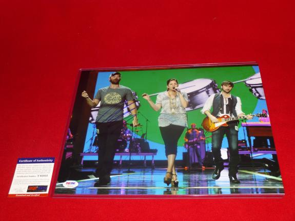sexy country star CHARLES KELLEY lady antebellum signed PSA/DNA 11X14 photo