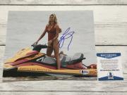 Sexy Hot L@@K Kelly Rohrbach Signed 8x10 Photo Beckett BAS COA Baywatch a