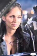 SEXY Megan Fox Signed RARE Transformers 8x10 Photo JSA