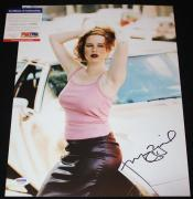 SEXY Molly Ringwald signed 11 x 14, Sixteen Candles, Pretty in Pink, PSA/DNA