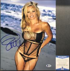 SEXY!!! PLAYMATE BAYWATCH Pamela Anderson Signed MODELING 11x14 Photo #1 BAS