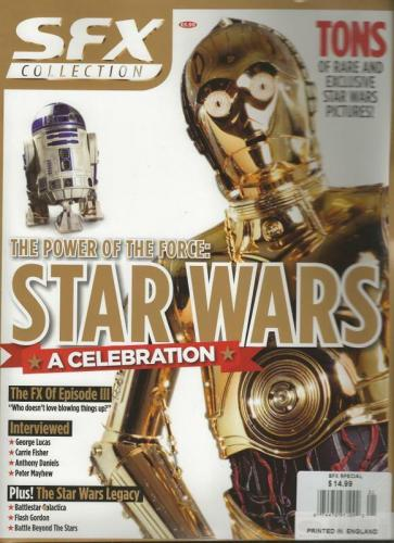 SFX Colection 2005 Star Wars Magazine R2D2 C3PO