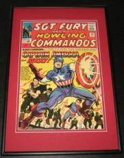 Sgt Fury #13 Captain America Framed 10x14 Cover Poster Photo Marvel