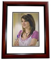 Shailene Woodley Signed - Autographed 11x14 inch Photo MAHOGANY CUSTOM FRAME - Guaranteed to pass PSA or JSA - Divergent Actress
