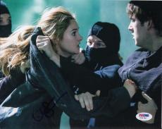 Shailene Woodley autographed Divergent Insurgent Tris 8x10 Photo PSA/DNA Y35766