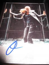 SHAILENE WOODLEY SIGNED AUTOGRAPH 8x10 PHOTO DIVERGENT PROMO IN PERSON COA NY K