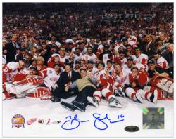 "Detroit Red Wings Brenden Shanahan Autographed 8"" x 10"" Photo"