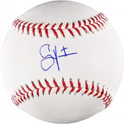 Shane Victorino LA Dodgers Autographed Baseball