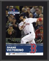"Shane Victorino Boston Red Sox 2013 MLB World Series Champions 10"" x 13"" Sublimated Player Plaque"