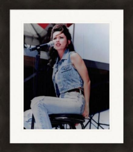 Shania Twain 8x10 photo (Canadian singer and songwriter) Matted & Framed