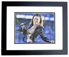 Shania Twain Signed - Autographed Country Music Singer 8x10 inch Photo BLACK CUSTOM FRAME - Guaranteed to pass PSA or JSA