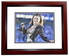 Shania Twain Signed - Autographed Country Music Singer 8x10 inch Photo MAHOGANY CUSTOM FRAME - Guaranteed to pass PSA or JSA