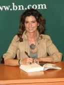 """Shania Twain Signed  Book """"from This Moment On"""" With 8 Real Photos And Bas Coa"""