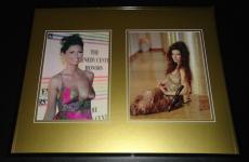 Shania Twain Signed Framed 16x20 Photo Display JSA