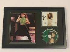 """Shania Twain Signed Framed """"up!"""" Cd Country Legend Autographed Proof"""