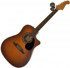 Shania Twain Signed Natural 6-String Fender Sonoran Guitar & Proof UACC AFTAL