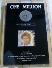 Shania Twain The Woman In Me Diamond Sales Award One Million Copies CRIA