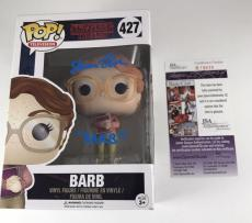 SHANNON PURSER signed BARB Funko POP Figure STRANGER THINGS Netflix JSA
