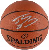 Spalding Shaquille O'Neal Los Angeles Lakers Autographed Indoor/Outdoor Basketball - Mounted Memories