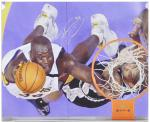 "Los Angeles Lakers Shaquille O'Neal Autographed 16"" x 20"" Photo - - Mounted Memories"