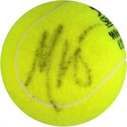 Maria Sharapova Autographed Wimbledon Logo Tennis Ball