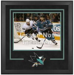"San Jose Sharks Deluxe 16"" x 20"" Horizontal Photograph Frame - Mounted Memories"