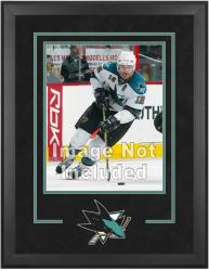"San Jose Sharks Deluxe 16"" x 20"" Vertical Photograph Frame - Mounted Memories"
