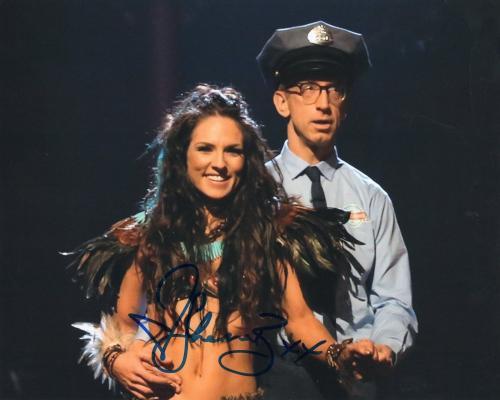 Sharna Burgess Signed Dancing With The Stars 8x10 Photo w/COA