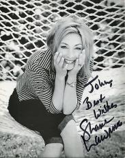SHARON LAWRENCE HAND SIGNED 8x10 PHOTO+COA    BEAUTIFUL POSE     TO JOHN