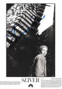 "SHARON STONE as CARLY NORRIS in ""SLIVER"" Signed 7x10 B/W Photo"