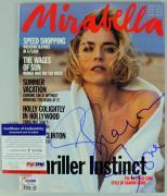Sharon Stone Signed 1992 Mirabella Magzine PSA/DNA #P43386