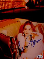 "Sharon Stone Autographed 8""x 10"" Casino In Car Photograph - BAS COA"