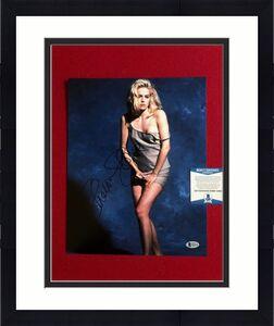 "Sharon Stone, ""Autographed"" (Beckett) 11x14 Photo (Basic Instinct)"